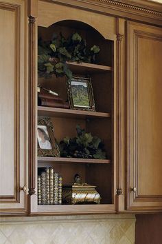 An arched valance adds a flourish wherever it is used.