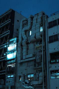 Urban Photography, Street Photography, Genius Loci, Cyberpunk City, Ecole Art, City Aesthetic, Concrete Jungle, Environment Design, Night City
