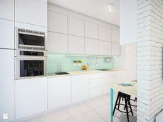 szyna na przybory kuchenne? Kuchnia styl Skandynawski - zdjęcie od EG projekt - Kuchnia - Styl Skandynawski - EG projekt