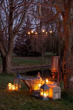 I just want to spend a fall evening in this spot....