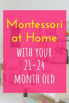 Montessori at home with your toddler old. Prepare your Montessori home for your Montessori toddler. Montessori Practical Life, Montessori Homeschool, Montessori Classroom, Montessori Toddler, Montessori Activities, Infant Activities, Toddler Preschool, Learning Activities, Montessori Bedroom