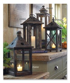 I liked these for indoor decorating before they became popular!