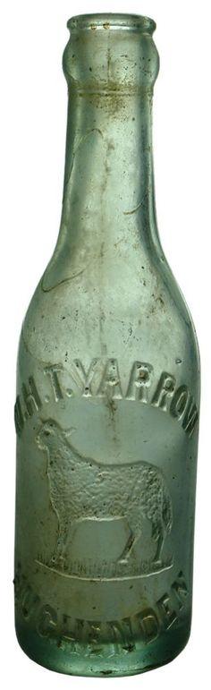 Auction 27 Preview   113   Yarrow Hughenden Sheep Crown Seal Soft Drink Bottle