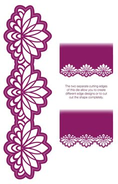 Gemini Collection Auriga Die-Sue Wilson Dies - Gemini Collection - Auriga Gemini Dies are unique because they offer the choice of several cutting edges which will change the way you add that finishing edge to your crafting projects. The Auriga die se Kirigami, Sue Wilson Dies, Diy And Crafts, Paper Crafts, Scan And Cut, Silhouette Cameo Projects, Silhouette Frames, Parchment Craft, Die Cut Cards