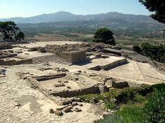 Ruínas de Festos - Grécia