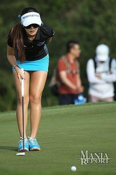 shortest skirt in all golf