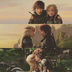 Cute overload❤❤❤ How to be younger? Dreamworks Animation, Disney And Dreamworks, Animation Film, Hicks Und Astrid, Httyd Dragons, Hiccup And Astrid, Dragon Rider, The Big Four, Amazing Adventures
