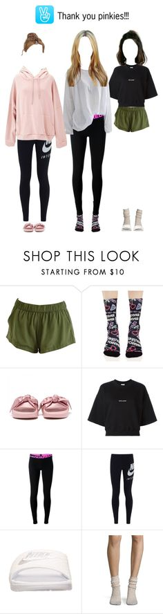 """""""[REPLAY] Thank you pinkies!!!"""" by promise-official ❤ liked on Polyvore featuring Stance, Yves Saint Laurent, Dsquared2, NIKE and Free People"""
