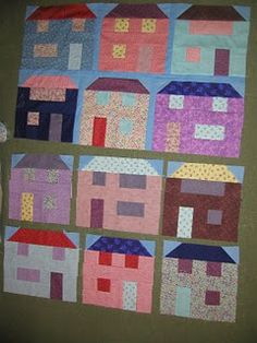 Made from jelly roll!  Free pattern, how cool!