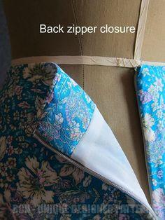 BCN - UNIQUE designer patterns: LEHENGA Skirt.-