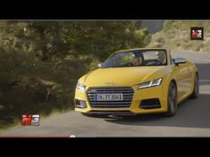 AUDI TTS ROADSTER 2015 - FIRST TEST DRIVE ONLY SOUND