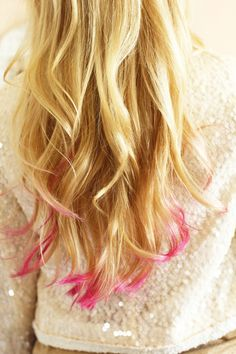 How To Dip Dye Your Hair - 6 steps plus photos