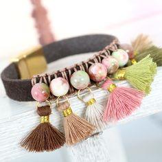 Boho look sieraden met trendy kralen en de nieuwe herfstcollectie kwastjes Ibiza Style