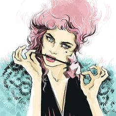 Онлайн мастер-класс «Коммерческая fashion-иллюстрация» с Аленой Лавдовской. Блог школы рисования