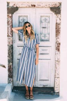 What to Wear in Pyrgos, Santorini Greece