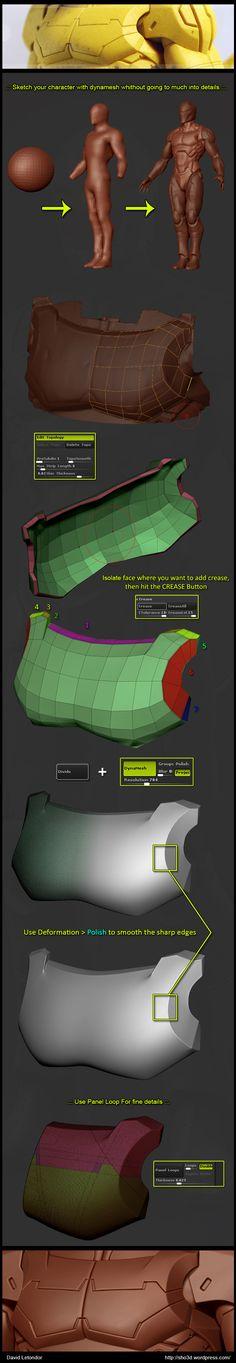 hard surface modeling breakdown