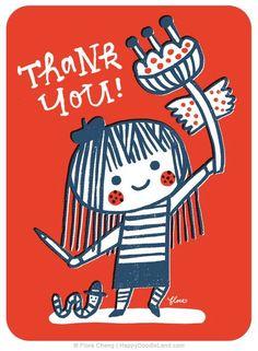 Thank you (Flora Chang)