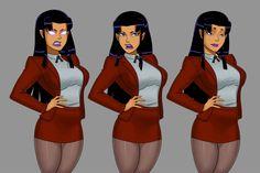 Dc Comics Girls, Dc Comics Art, Dc Comics Characters, Female Characters, Disney Marvel, Marvel Dc, Dc Animated Series, Game Design, Female Monster