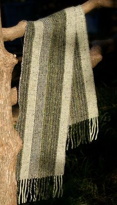 Not just a scarf, a studio donegal, merino wool, Irish scarf.  A bit out of season, but gorgeous anyway!