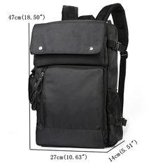 Oxford Backpack Travel Business Multi-functional Laptop Bag Handbag For Men  Online 6013b0aa5f39a