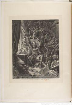 L'ingénieux hidalgo don Quichotte de la Manche. T. 1 / par Miguel de Cervantes Saavedra ; traduction de Louis Viardot ; avec les dessins de Gustave Doré...   Gallica