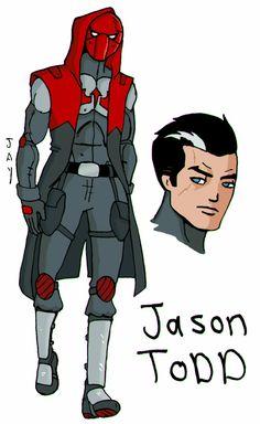 Jason Todd Robin, Red Hood Jason Todd, Comics Universe, Nightwing, Dc Comics, Batman, Fictional Characters, Red Hood, Fantasy Characters