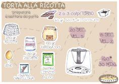 Torta alla Ricotta con il Bimby @Katia Ciancaglini #visualbimby