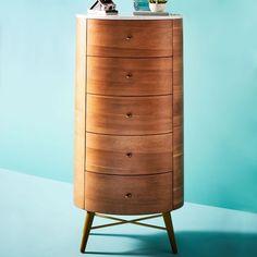 Penelope Narrow 5-Drawer Dresser