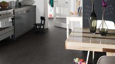 Flooring option, marmoleum in volcanic ash