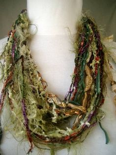 Flurty Fun Amoto Necklace by SachiDesigns on Etsy
