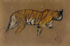 Arthur Wardle - Tiger Walking