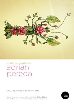 Exposiciones Zaragoza Ilustración pintura Adrián Pereda