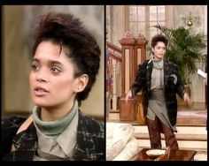 Denise Huxtable   The Cosby Show   A Different World   that's how you put an outfit together ;)