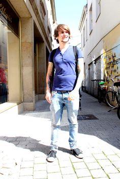 Sebastian, 23 Jahre, Kleidung: H u. M, #streetstyle