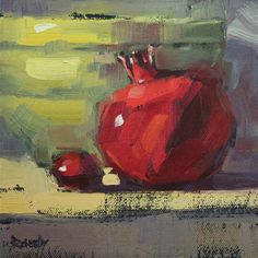 """Plum Pom"" - Original Fine Art for Sale - © by Cathleen Rehfeld"