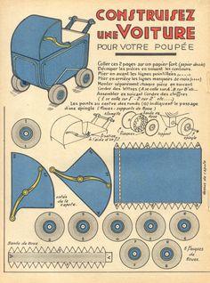 Poussette vintage
