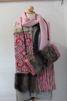f6600b7e0994 Etsy - Achetez des cadeaux faits main, vintage, personnalisés et uniques  pour tout le monde. Echarpe FourrureCol ...