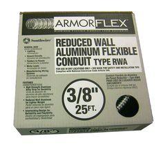 Armor Flex Reduced Wall Flexible Aluminum Conduit
