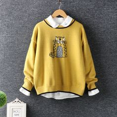 Best price on Owl Pullover Solid Color O-neck     Price: $ 45.80  & FREE Shipping     Your lovely product at one click away:   http://mrowlie.com/owl-pullover-solid-color-o-neck/     #owl #owlnecklaces #owljewelry #owlwallstickers #owlstickers #owltoys #toys #owlcostumes #owlphone #phonecase #womanclothing #mensclothing #earrings #owlwatches #mrowlie #owlporcelain