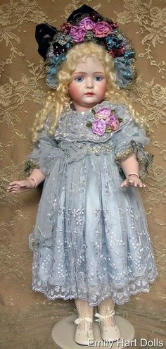 """Bruno Schmidt """"Bettina"""" wears lovely silk dress with Vintage lace overlay."""