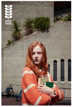 AW15 Ad Campaign. Image 7/10. Photography @yemchuk Model @madi_stubbington Styling @leithclark Hair @neilmoodie Make Up @sambryantmakeup #orlakiely #allquietinthelibrary