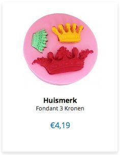 Huismerk Fondant 3 Kronen www.ovstore.nl/nl/huismerk-fondant-3-kronen.html