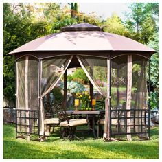 10 X 12 Chatham Steel Hardtop Gazebo 099999979381 Features An