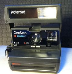 #PolaroidCamera #OneStep #CloseUp w/ Strap 600 Film Camera TESTED Film-Made in UK-WORKS #Polaroid
