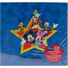Mickey Postbound Scrapbook Album - Overstock™ Shopping - Top Rated Scrapbook Albums