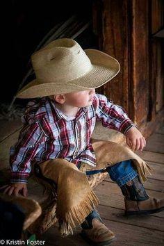 Handsome little Cowboy.
