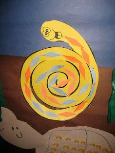 rattle snake pattern