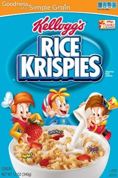 Rice Krispies are low-FODMAP!