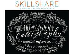 Skillshare Calligraphy Class - Saffron Avenue : Saffron Avenue