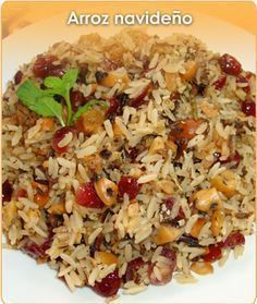 See related links to what you are looking for. Rice Recipes, Mexican Food Recipes, Cooking Recipes, Healthy Recipes, Colombian Food, Xmas Food, Rice Dishes, International Recipes, Food Inspiration